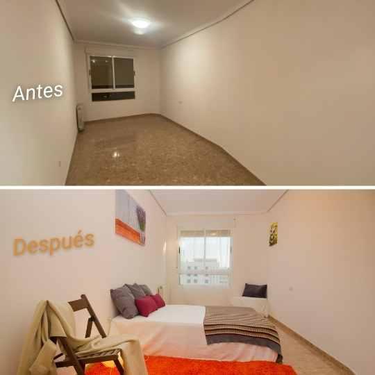 Preparación piso venta